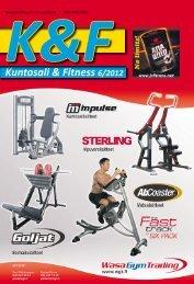 Kuntosali & Fitness 6/2012 - KF-lehti