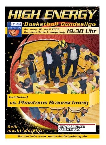 vs. Phantoms Braunschweig - Neckar RIESEN Ludwigsburg