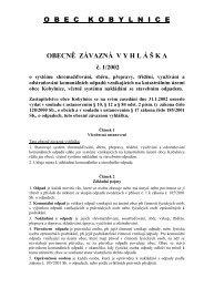 2002_1 systém odpady - Kobylnice