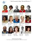 Nash Community College - Personnel Directory - 1 Nash ... - Page 7