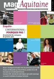Enquête: L'InternatIonaL : PourquoI Pas ? - Mag Aquitaine