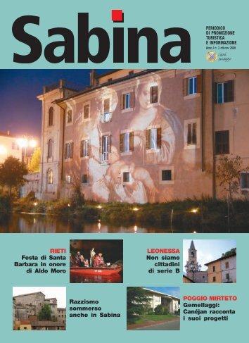 Rieti - Sabina Magazine