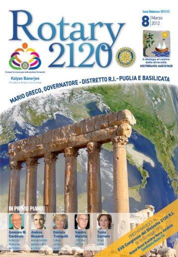 Sommario - Distretto 2120