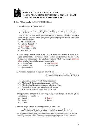 Contoh Soal Ujian Cpa Amsi