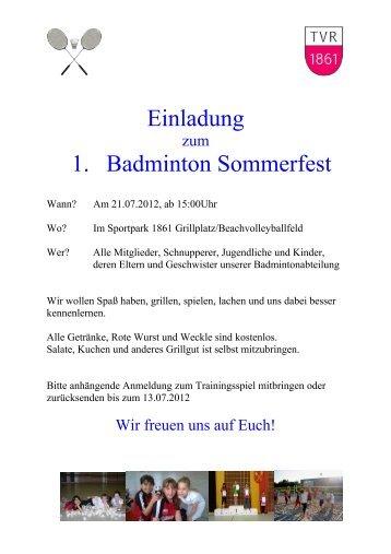 sommerfest - landschulheim burg nordeck, Einladung