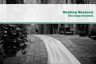 Brochure - Wedding Weekend