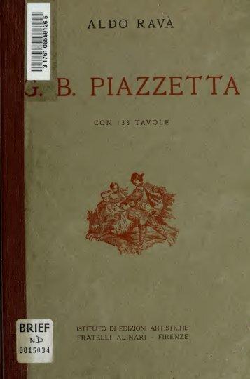G. B. Piazzetta