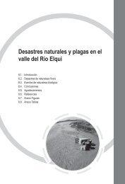 Desastres naturales y plagas en el valle del Río Elqui