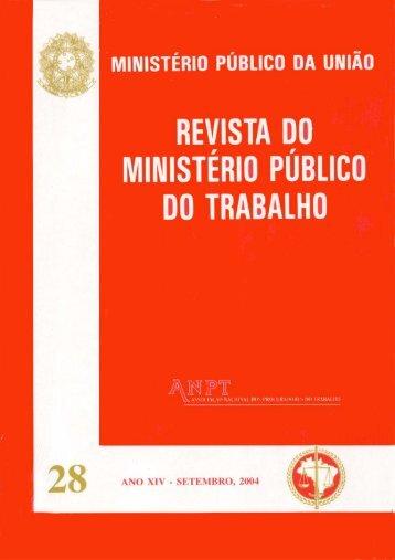 Nº 28– Setembro 2004 - ANPT
