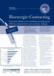 Bioenergie-Contracting - trend:research