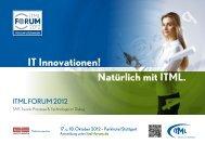 ITML FORUM 2012 - treorbis