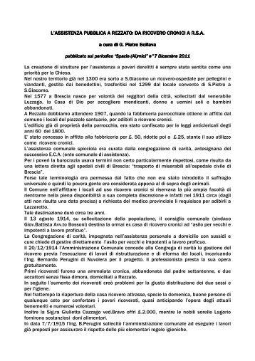scarica l'allegato - Azienda Speciale Evaristo Almici