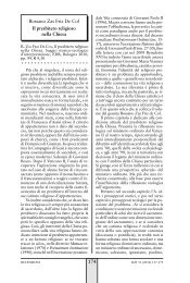 R. Zas Friz De Col - Rassegna di Teologia