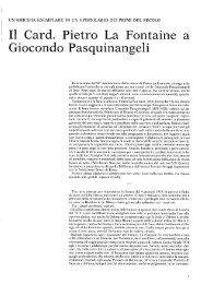 Il Card. Pietro La Fontaine a - Biblioteca consorziale di Viterbo