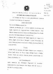 CdS n. 1019/2000: appalto servizi assicurativi, criteri di ... - Ania