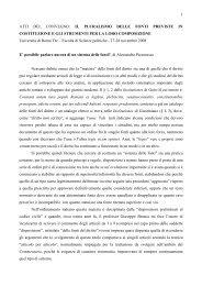 1 ATTI DEL CONVEGNO: IL PLURALISMO DELLE FONTI ...