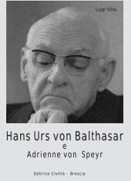 Libro su von Balthasar - Chiesa Viva