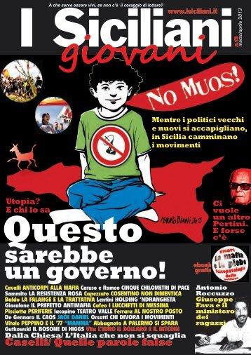 marzo 2013 - I Siciliani giovani