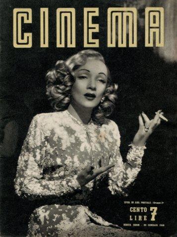 Cinema 1949 numero 07 - Holmes