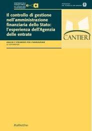 Il controllo di gestione nell'amministrazione finanziaria ... - Magellano