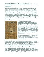 Sufi Introduction to the 99 Names of Allah and sufi