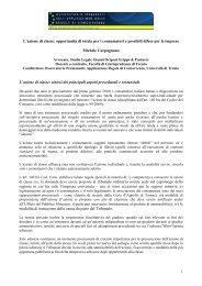 azione di classe_Carpagnano_301111 - Osservatorio permanente ...
