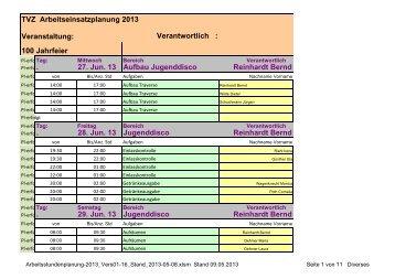 Festwochenende [pdf] - TV Zeilhard