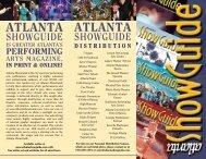2013 Media Kit - Atlanta ShowGuide