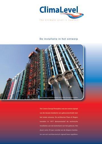 Informatiebrochure ClimaLevel voor Architecten