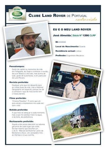 EU E O MEU LAND ROVER - Clube Land Rover de Portugal