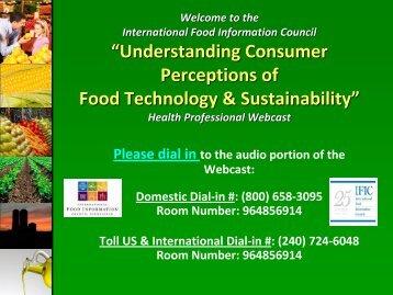 Survey - International Food Information Council Foundation