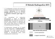 Il Metodo Radiografico (RT) - Dimeca