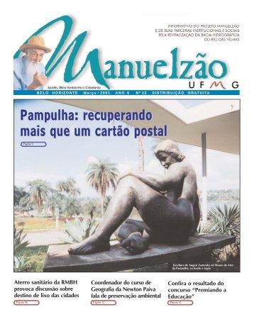 Revista Manuelzao 22 - Projeto Manuelzão - UFMG