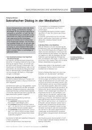 Sokratischer dialog in der Mediation? - Raupe & Schmetterling ...
