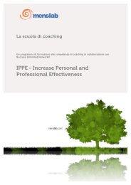 IPPE - Formazione alle competenze del coaching | Menslab
