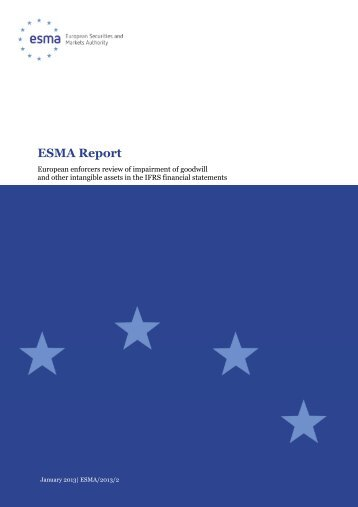 2013-2 ESMA Report - Review of practices related ... - Esma - Europa
