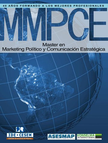 Master en Marketing Político y Comunicación Estratégica