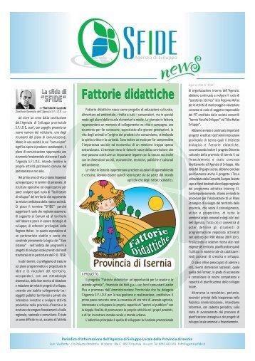 Fattorie didattiche - Agenzia Sfide