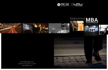 incae - Executive MBA Lima · Perú
