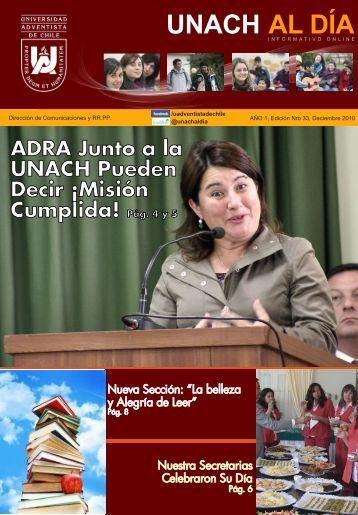 Pág. 4 y 5 - Universidad Adventista de Chile