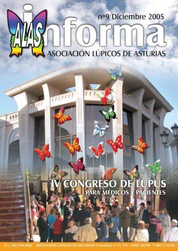 alas informa nº 9 - Asociación Lúpicos de Asturias