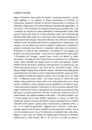 ANDREA SARUBBI Signor Presidente, vorrei ... - Pierangelo Ferrari
