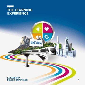 LA FABBRICA DELLE COMPETENZE - Luxottica Group