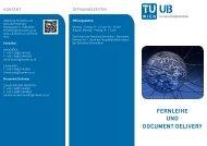 Fernleihe und document delivery - Universitätsbibliothek der TU Wien