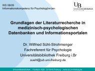 suehl@ub.uni-freiburg.de - Datenbanken