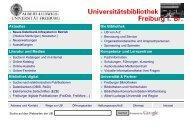 Was suche ich wo? - Service & Hilfe - Albert-Ludwigs-Universität ...