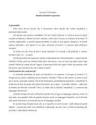 Giovanni Ventimiglia Identità maschile in questione E gli uomini ...