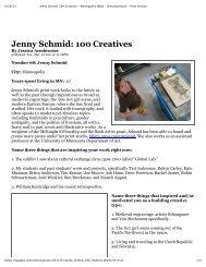Jenny Schmid: 100 Creatives - Ash Marlene Hane