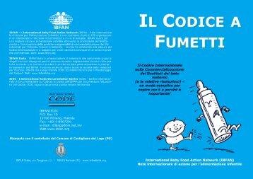 Il Codice a Fumetti - Ibfan Italia