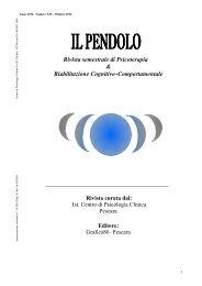 IL PENDOLO - Centro di Psicologia Clinica